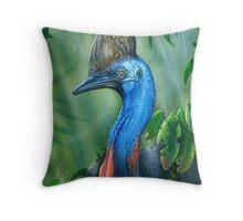 Sothern Cassowary ( endangered Species ) Throw Pillow