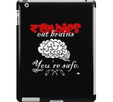 Zombies eat Brains VRS2 iPad Case/Skin