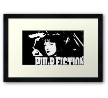 Mrs. Mia Wallace Framed Print