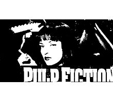 Mrs. Mia Wallace Photographic Print