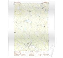 USGS TOPO Map New Hampshire NH Farmington 329559 1987 24000 Poster