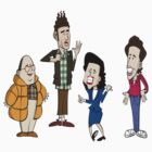 Jerry and the gang by Greg Vercoe