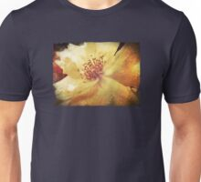 Antique Look Yellow Flower in Summer Sun Unisex T-Shirt
