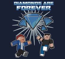 Diamonds are forever - Minecraft by Namueh