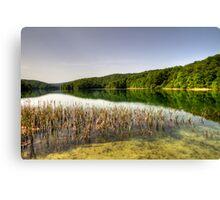 Plitvice Lake, Croatia Canvas Print