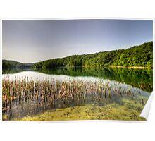Plitvice Lake, Croatia Poster