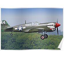 Curtiss P-40M Kittyhawk - Dunsfold 2013 Poster
