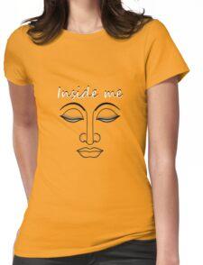 "Inside me "" BUDDHA"" Womens Fitted T-Shirt"