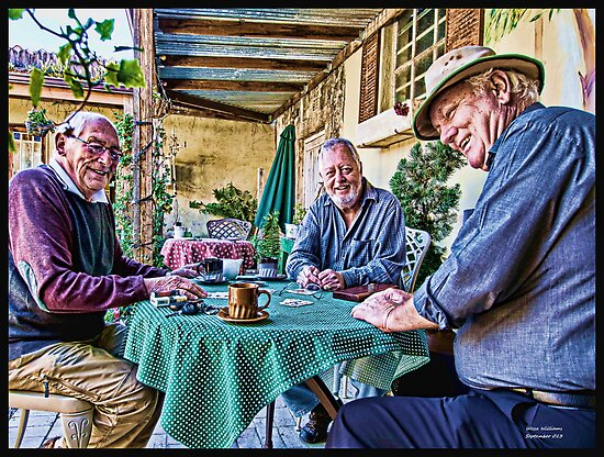 Cards & Coffee by Warren. A. Williams