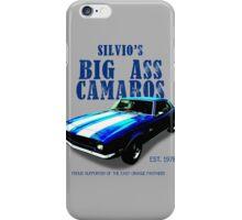 Silvio's Camaros iPhone Case/Skin