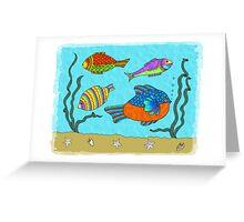 Potty Fish Greeting Card