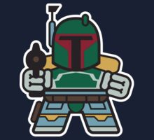 Mitesized Fett One Piece - Short Sleeve