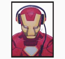 Iron DJ Drawing by Robert  Taylor