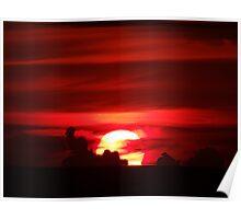 sunfire - fuego del sol Poster