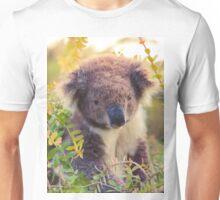 Koala in the Front Yard Unisex T-Shirt