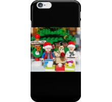 Marty, Doc and Rudolph iPhone Case/Skin