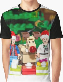 Marty, Doc and Rudolph Graphic T-Shirt