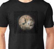 Antique Feel Photograph of an Eerie Clock Face Unisex T-Shirt
