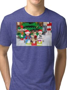 Marty, Doc and Rudolph Tri-blend T-Shirt