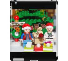 Marty, Doc and Rudolph iPad Case/Skin