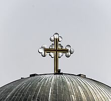 Metal Cross by Sotiris Filippou