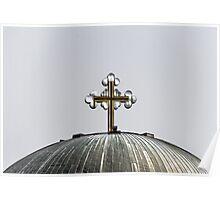 Metal Cross Poster