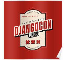 Djangocon Europe 2011 Poster