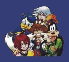 Kingdom Hearts - All Friends Here by StraightEK