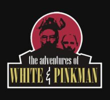 the adventures of white and pinkman  by seanlar94