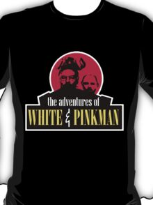 the adventures of white and pinkman  T-Shirt