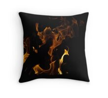 Fire Throw Pillow