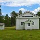 Greenfield Schoolhouse by PineSinger