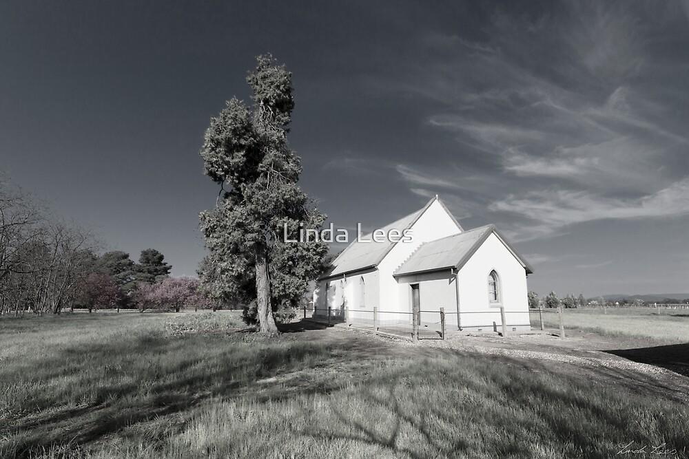 Along Church Lane by Linda Lees