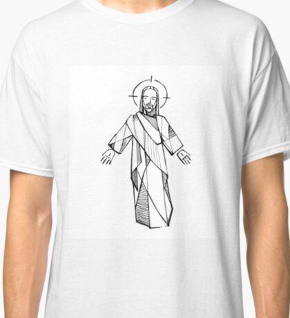 Jesus Christ illustration Classic T-Shirt
