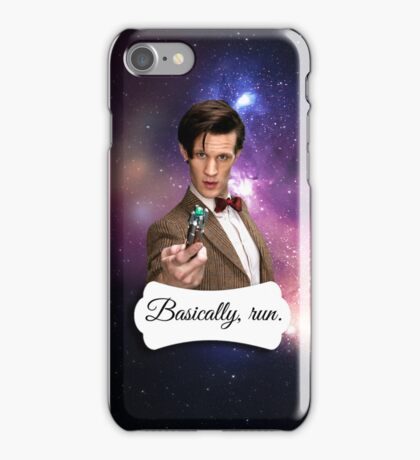 I'm the Doctor. iPhone Case/Skin