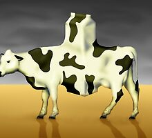 SURREALISM - Cow Product  by surreal77