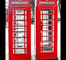 British Phone Boxes for iPhone by Andrew Robinson