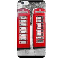 British Phone Boxes for iPhone iPhone Case/Skin