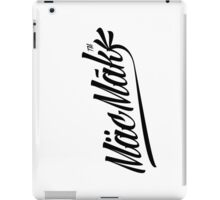 Macmak™ on white  iPad Case/Skin