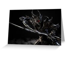 Daedric Warrior Greeting Card