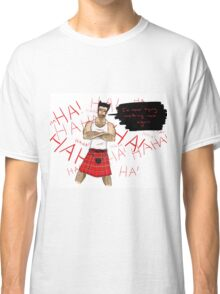 Wolverine in a Kilt Classic T-Shirt