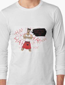 Wolverine in a Kilt Long Sleeve T-Shirt