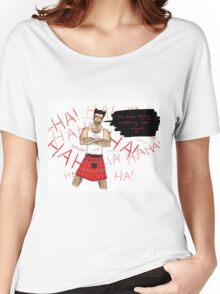 Wolverine in a Kilt Women's Relaxed Fit T-Shirt