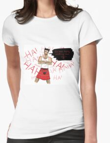 Wolverine in a Kilt Womens Fitted T-Shirt