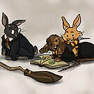 Hare-y Potter by quietsnooze