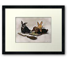 Hare-y Potter Framed Print