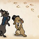 Sherlock and Watson Bunnies by quietsnooze