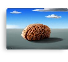 SURREALISM - Thinking Of The Female Body Canvas Print