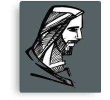 Jesus Christ illustration Canvas Print