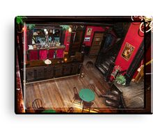 Belly Up to the Bar Boys Canvas Print